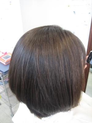 奈良市 学園前 美容室 真っ直ぐになり過ぎない 縮毛矯正