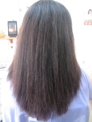 40代 50代 縮毛矯正 美容室 奈良 学園前 西大寺