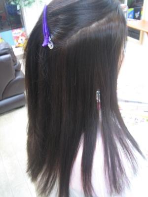 学園前 奈良市 美容室 縮毛矯正 ストレートパーマ