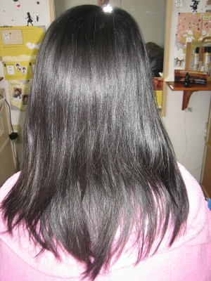縮毛矯正半年後 奈良市 学園前 美容室