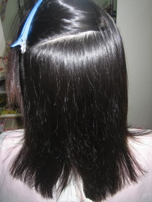 艶やかな紙 しなやかな髪 美しい髪 美容室