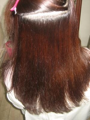 白髪染めと縮毛矯正 老化 アンチエイジング系美容室