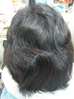 髪を減らす ボリュームダウン 美容室