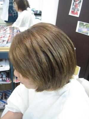 縮毛矯正 2回目 奈良 美容室