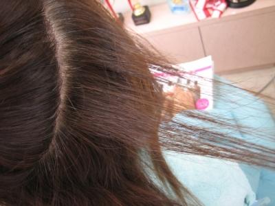 減らしすぎた髪 根元が広がる髪