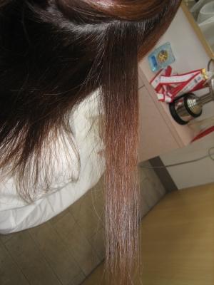 減らされすぎた髪