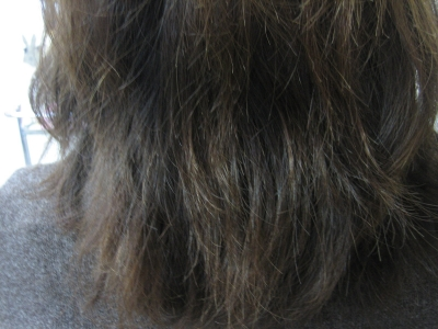 白髪染め ストレートパーマ 40代