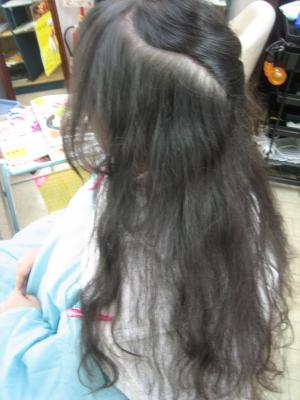 奈良市 細い髪専門店 学園前