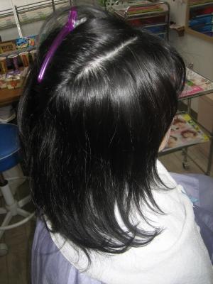 髪の量を減らしたい うまく減らない 美容室