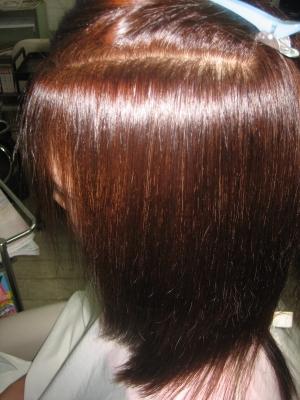 50代 縮毛矯正 白髪染め 専門店 奈良 美容室