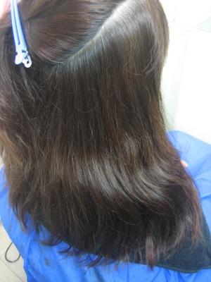 縮毛矯正1ヵ月後 奈良 美容室