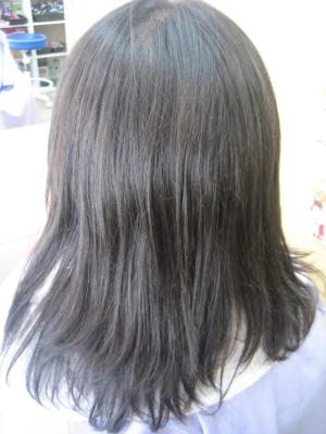 奈良 学園前 美容室 ストレートパーマ 髪を減らされた