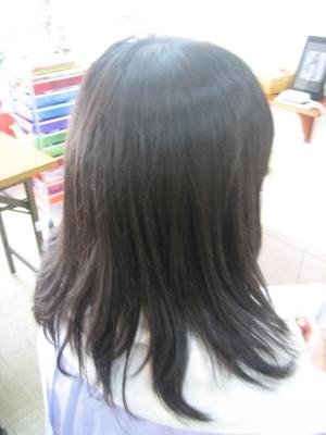 奈良市 高の原 美容室 髪を梳きすぎた
