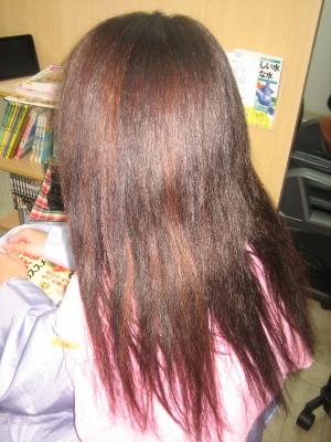 奈良 傷んだ髪 ストレート 美容室