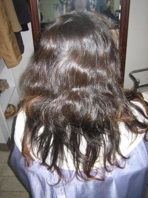 ペタンコになりやすい髪 縮毛矯正 奈良