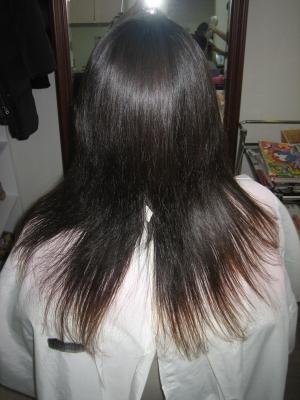 細い髪専用 ストレートパーマ