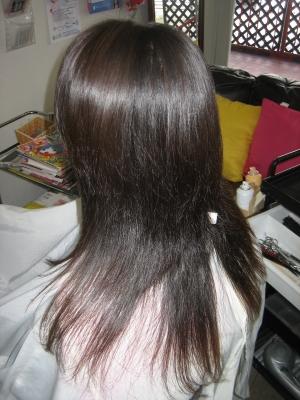 痛みやすい髪専用ストレート