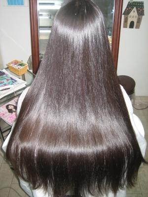 綺麗な髪 美しい髪 お手入れ簡単 美容室