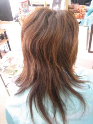 髪を減らしすぎ シャギー 髪の量を減らす 失敗
