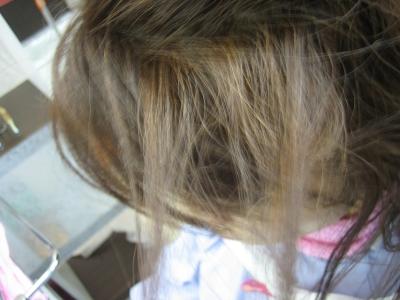 髪の毛減らしすぎ フレンチグラン ヘアリセッター