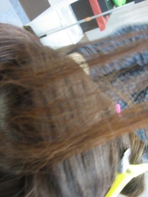 減らしすぎた髪 セニング
