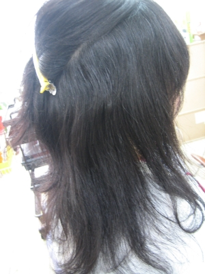削ぎすぎ すきばさみ入れすぎ 減らされすぎた髪