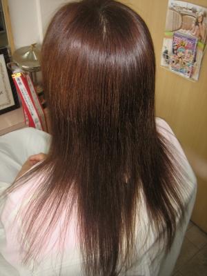 細い髪 縮毛矯正 40代 50代