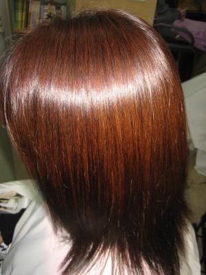 奈良 縮毛矯正専門店 ガロ 髪の量を減らす
