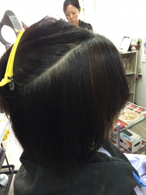 奈良 縮毛矯正 美容室 高の原 西大寺
