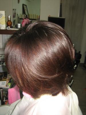 艶やかな肩上ボブ 奈良 美容室 40代50代専門美容師