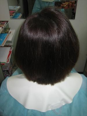 根折れ修正 ジリジリした髪を真っ直ぐにする 奈良 美容室