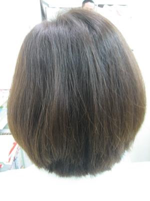 奈良市 学園前 縮毛矯正の失敗を治す