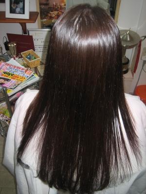 艶やかなストレートヘア 自慢できる髪 美しい髪 綺麗な髪