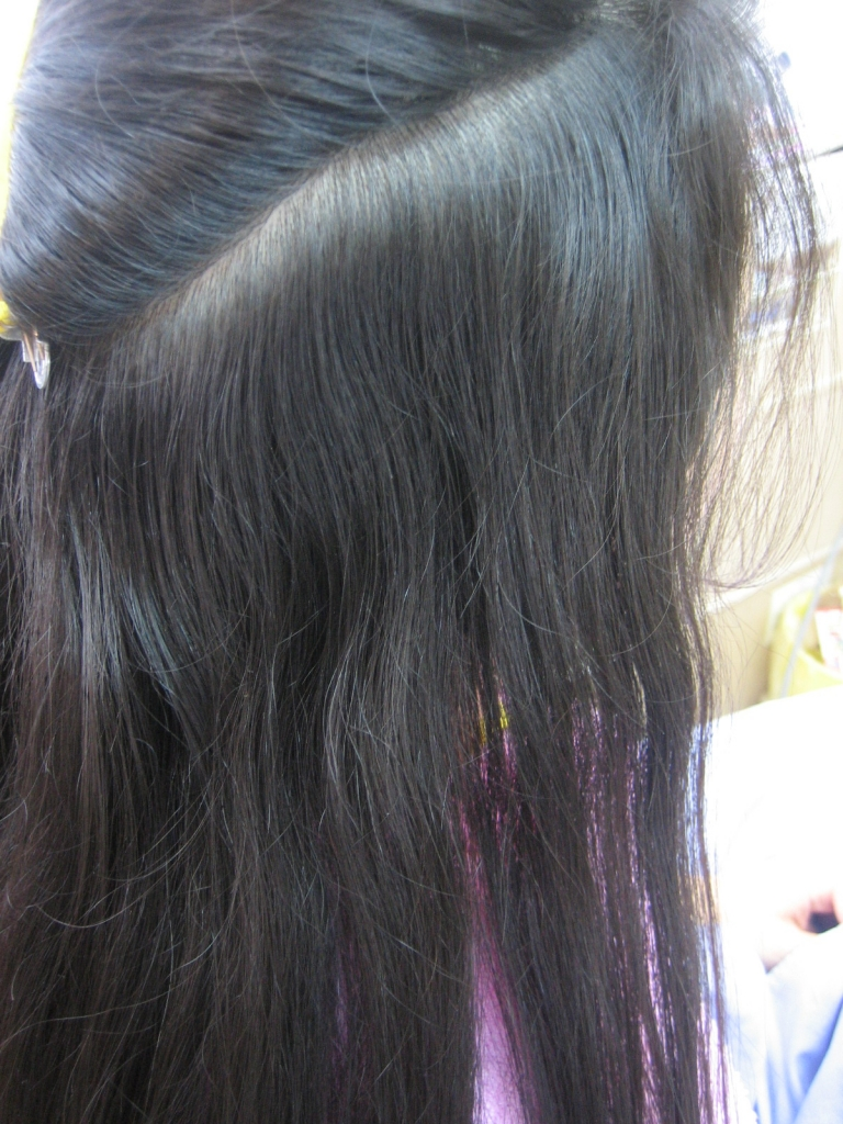 根元のクセ 髪の毛 縮毛矯正