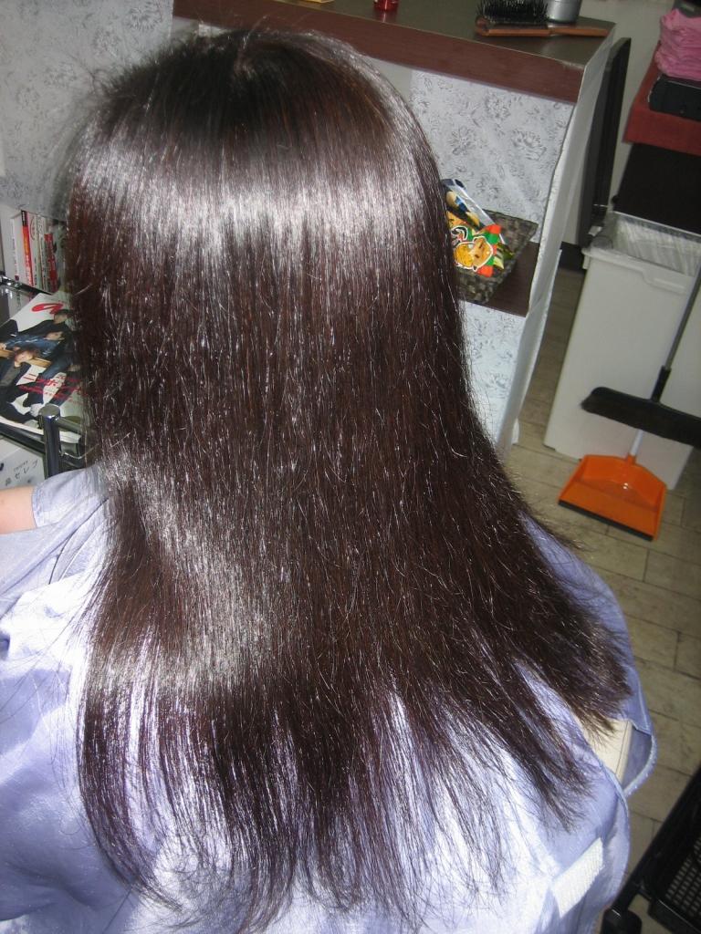 ビフォーアフター 髪の量が多い悩み
