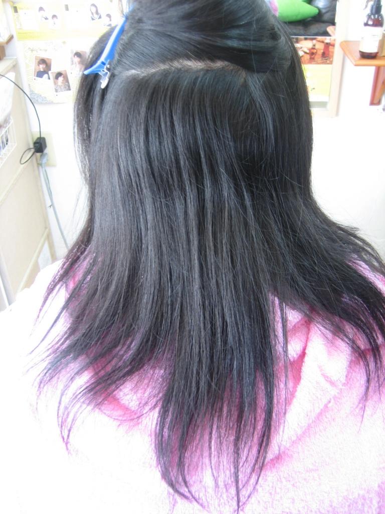 フレンチグランカット 髪の量を減らしすぎ
