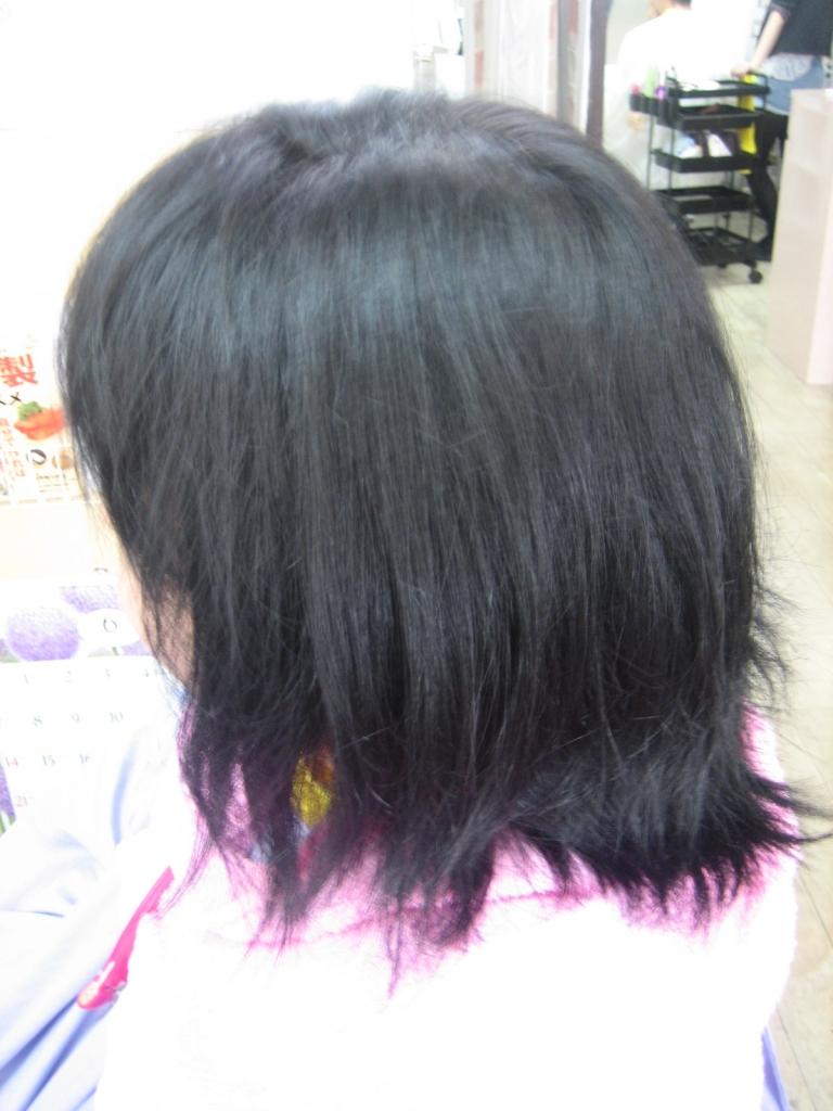 40代 小学校の入学式 ママのヘアスタイル