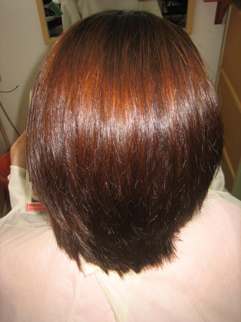 髪の量を減らすだけ 美容室 奈良 40代 50代