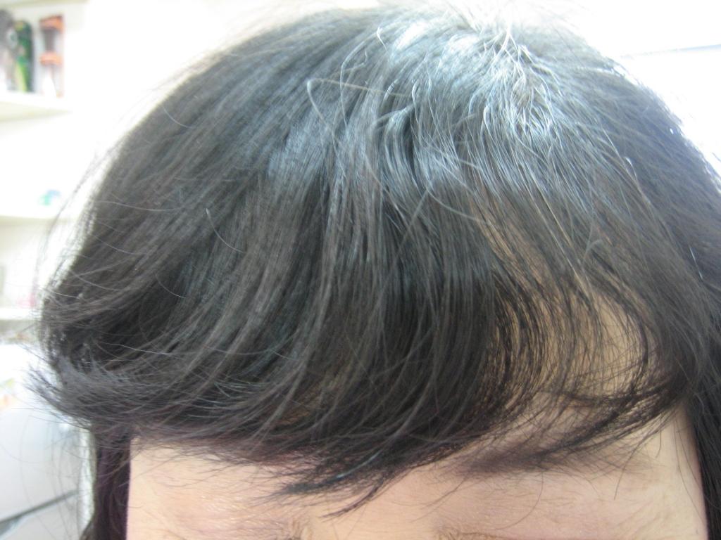 前髪のイメージチェンジ