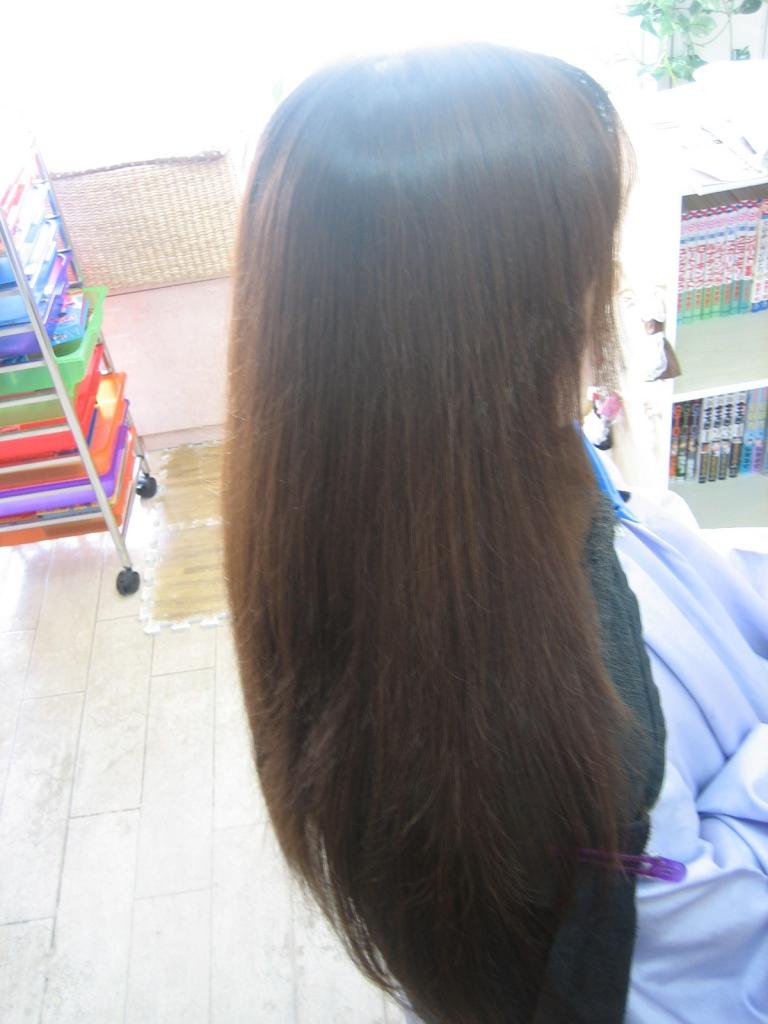 髪の長さが腰まで伸ばせるようにするために必要なこと