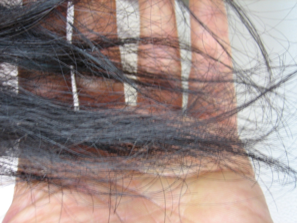京都のホットペッパービューティー見て行った美容室で失敗された髪の毛先