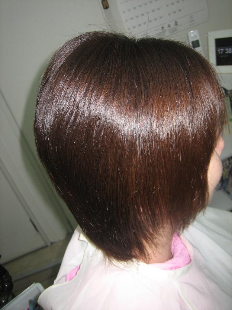 髪を減らすのがうまい美容室 奈良 奈良市