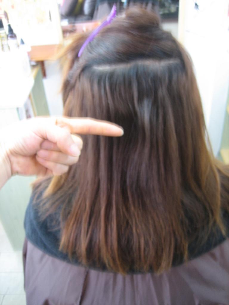 ダメージヘア 髪質改善 痛みやすい髪は治ります