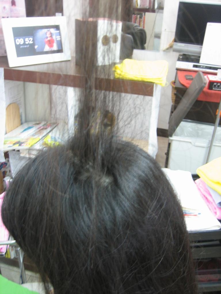 髪の量を減らすという技術 美容師