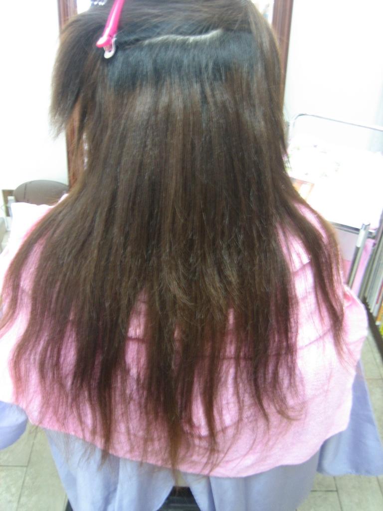 大阪 縮毛矯正の失敗を治す 奈良 縮毛矯正専門店