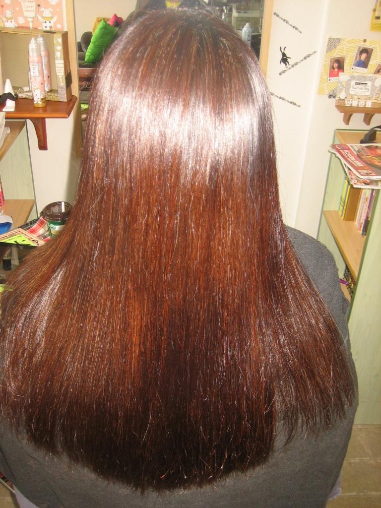 生駒 美容室 縮毛矯正 髪質改善