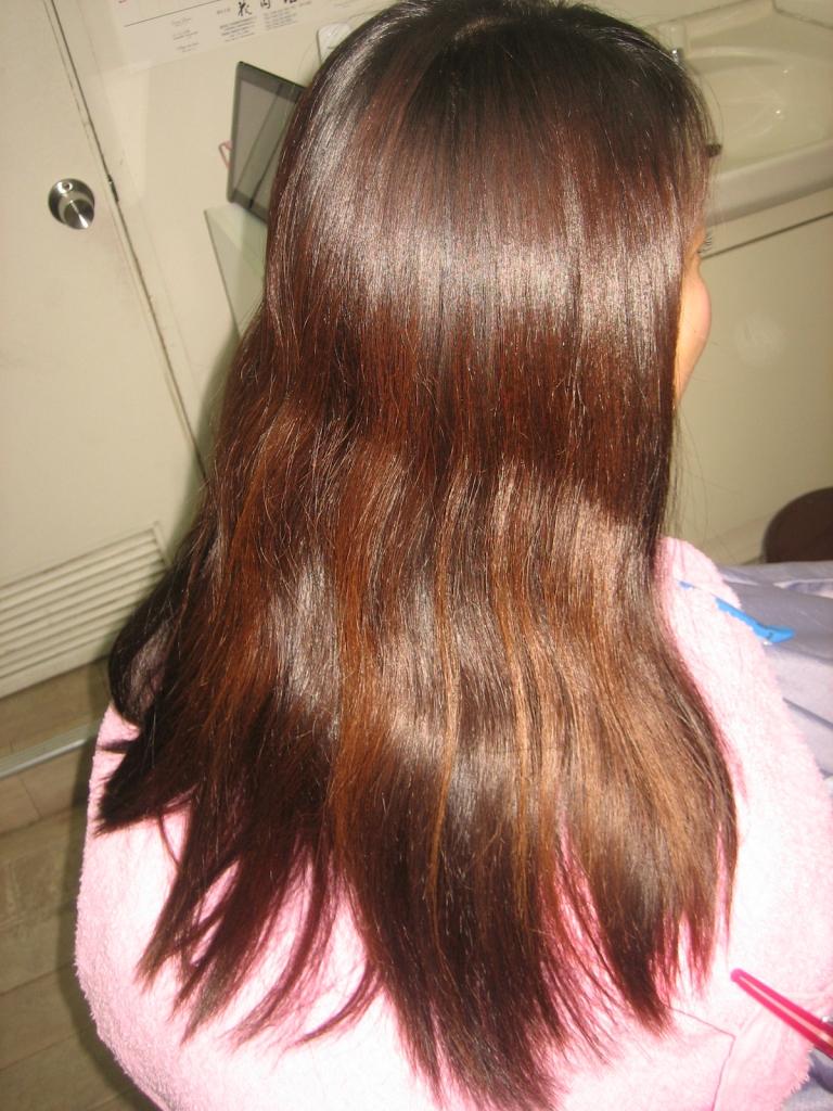 髪質改善 縮毛矯正 美容室 西大寺