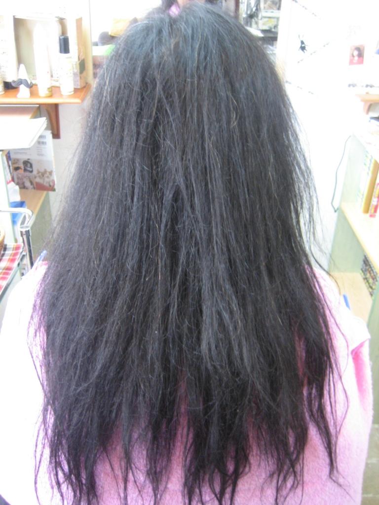 髪質改善 失敗 生駒 美容室