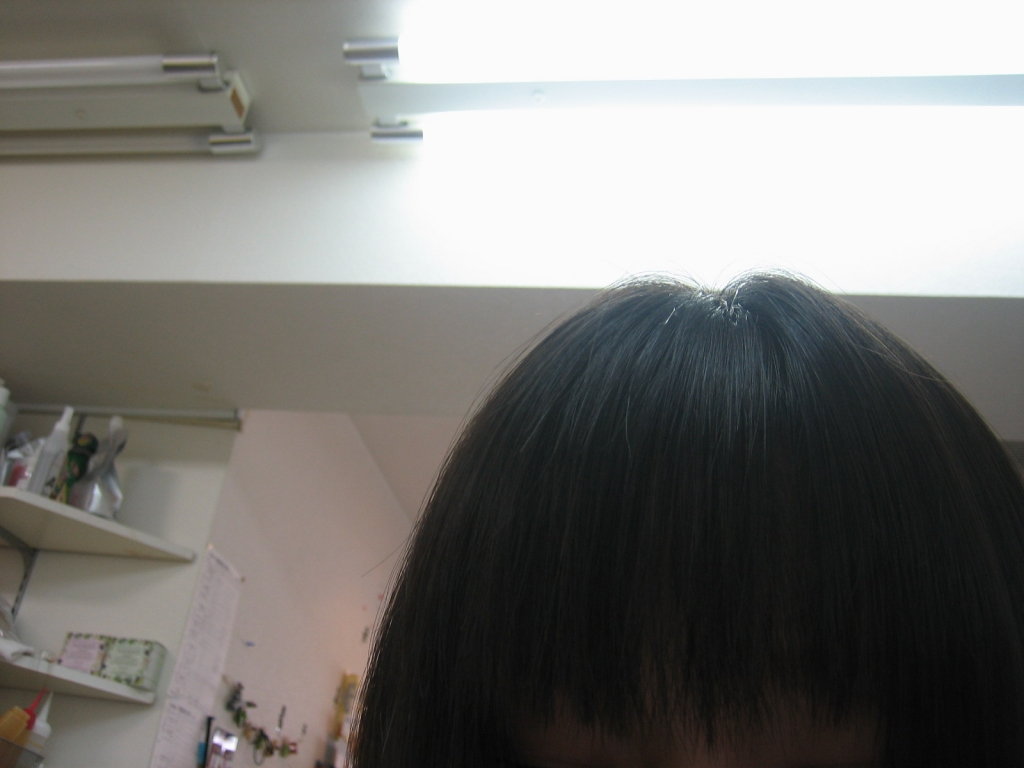 前髪!ぱっつん!!