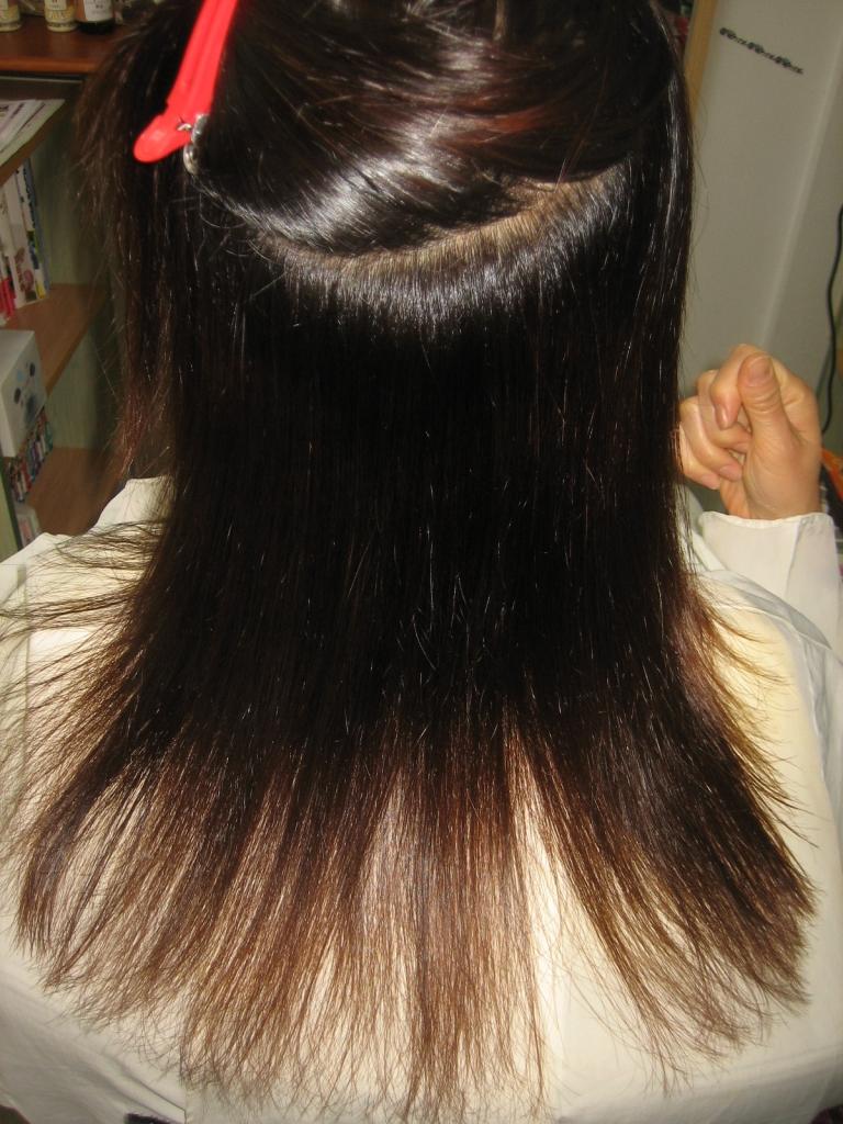 美容師に失敗された ストレート 髪質改善 50代